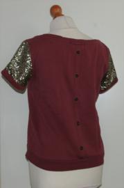 Maison Scotch rood shirt-S