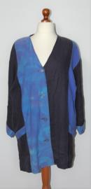Pasja blauwe blouse-46