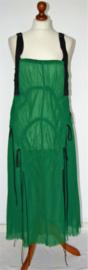 Cora Kemperman groene jurk-S