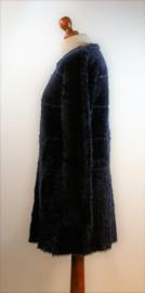 Huang Moda blauw teddy vest- Xl/XXL