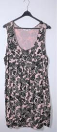 Miss Etam roze/zwarte tuniek- 46