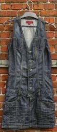 Il Dolce jeansjurk-36