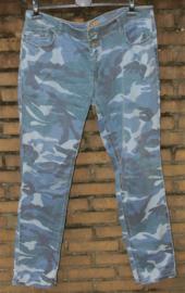 Zizo blauwe camouflage broek-46