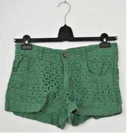 Dixie groene broek/shorts-S
