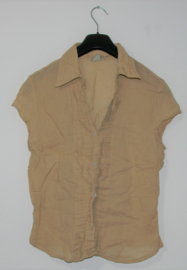 We bruine blouse-L