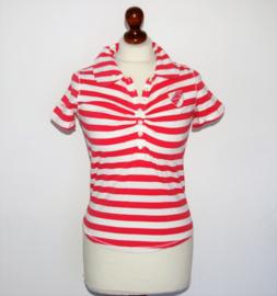 McGregor rood-wit gestreept shirt- S