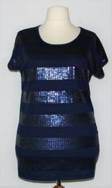 MS blauw t-shirt -L