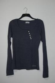 8mm blauw shirt-M