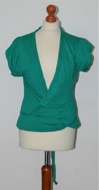 Cora Kemperman groene top- XL