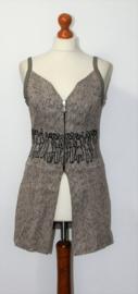 ZNJ beige jurk-36