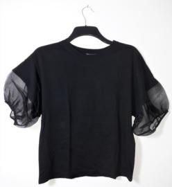 Zara zwart t-shirt-L
