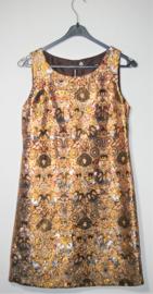 H&M goudkleurige jurk-36