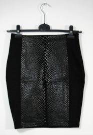 H&M zwarte tijgerprint rok-36