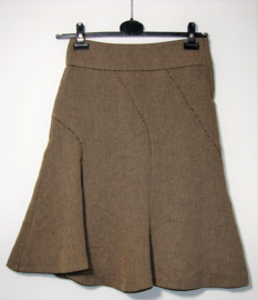 H&M bruine rok- 36/38