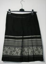 H&M zwart/grijze rok-36