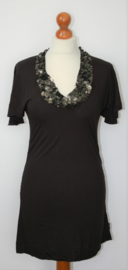 Didi zwarte jurk-XS