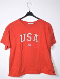 America Today oranje t-shirt-M