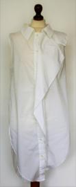 Witte lange blouse-M/L
