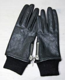 Zwarte handschoenen S