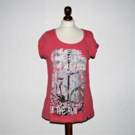 EDC rood t-shirt-XL