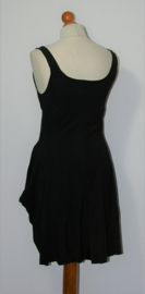 Marithé Francois Girbaud zwarte jurk-36