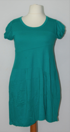 Cora Kemperman turquoise tuniek-L
