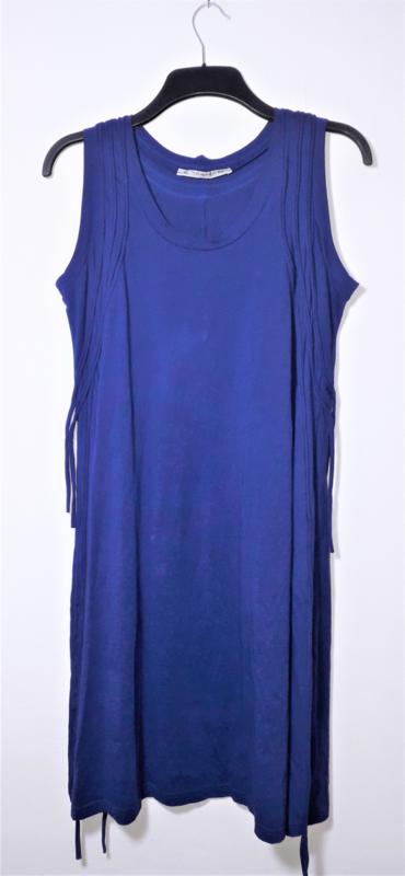 Cora Kemperman blauwe jurk-XL