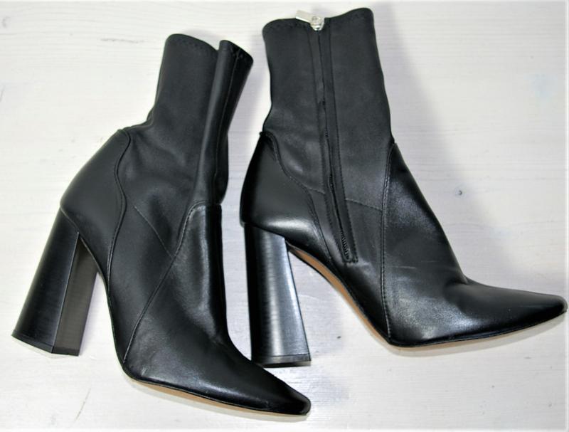 Zara Woman zwarte enkellaarzen-40
