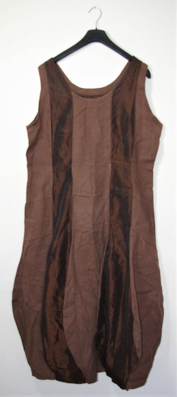 Hebbeding kopie bruine jurk-46