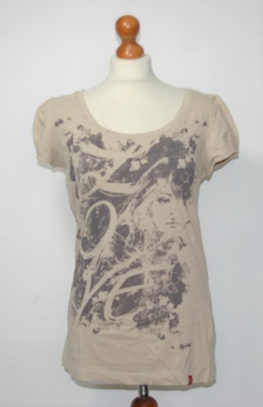 EDC beige t-shirt-L