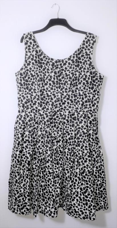 Lindy Bop zwart-witte jurk-50
