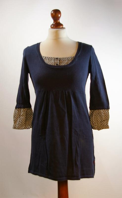 Jackpot blauwe jurk-XS