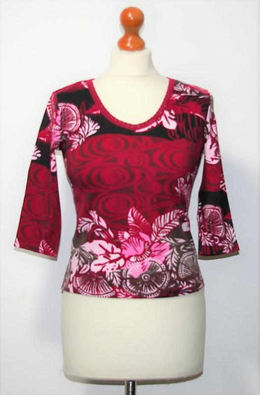 Street One rood shirt-36