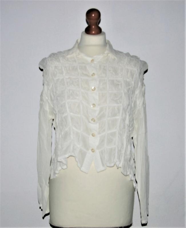 Cora Kemperman witte blouse-S