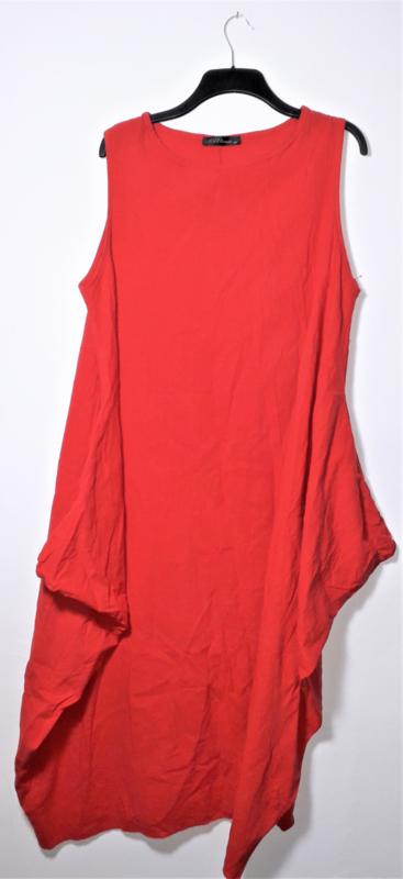 Zanzea rode jurk-5XL