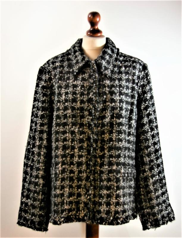 MS zwart/witte jasje-50