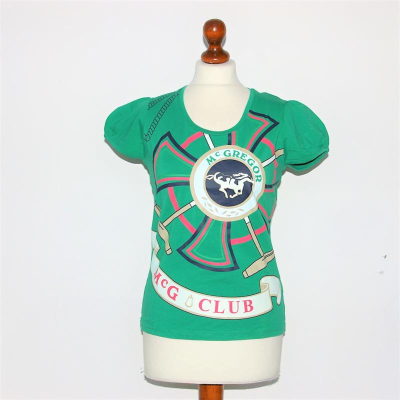 McGregor groen shirt-S
