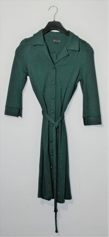 King Louie groene jurk-S