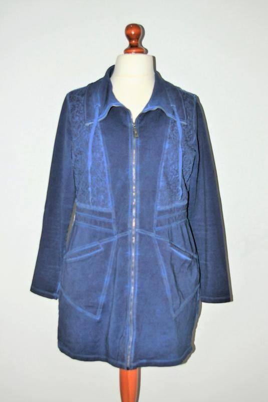 Yest blauwe jas-XXL