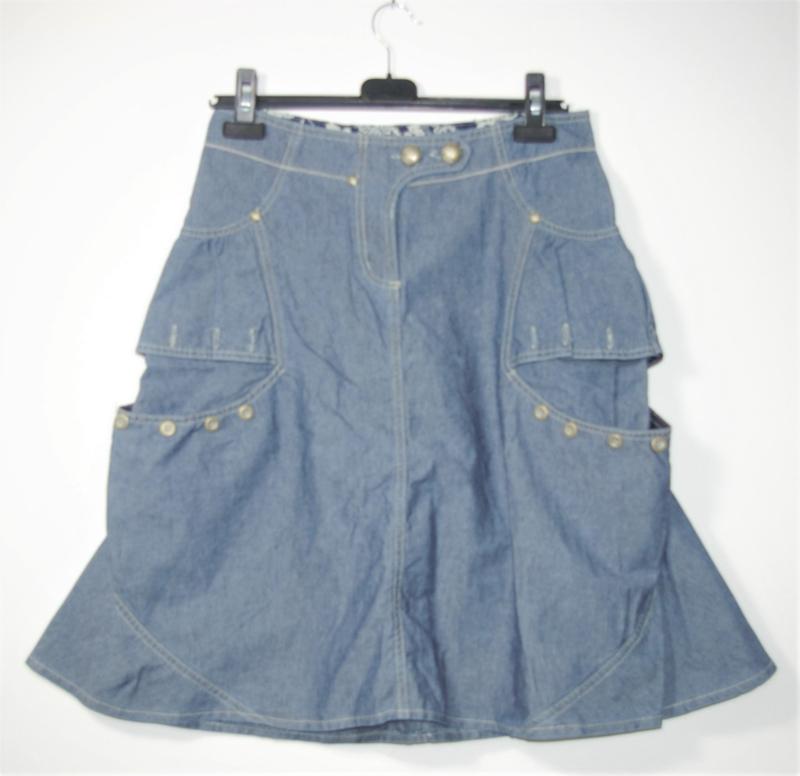Didi blauwe rok-XS