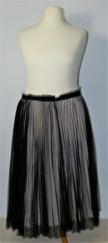 Cora Kemperman grijs/zwarte rok-S
