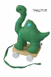 SmallStuff Dino on Wheels appel groen