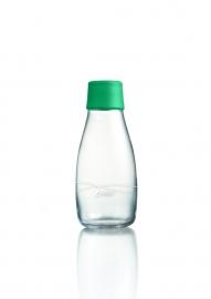 Retap Waterfles 0,3 lt met groene dop