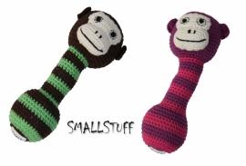 SmallStuff Rammelaar aap lila/roze