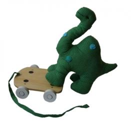 SmallStuff Dino on Wheels appel groen