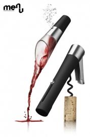 Menu wijnschenktuit en Design kelnersmes