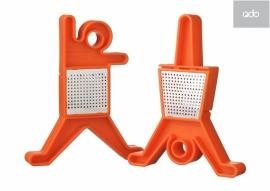 2 QDO design theehouders oranje