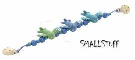 SmallStuff Kinderwagenspanner vliegtuig blauw