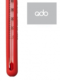 QDO design thee thermometer rood