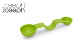 Maatschepje met magneetjes, 4 maten groen
